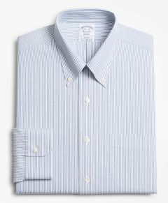 CAMISA HOMBRE STRETCH REGENT FITTED NON-IRON TONAL FRAMED STRIPE