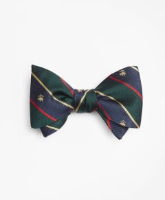 HUMITA HOMBRE ARGYLL AND SUTHERLAND WITH GOLDEN FLEECE® STRIPE BOW