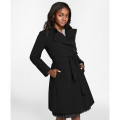 CHAQUETA MUJER WOOL BLEND TRENCH