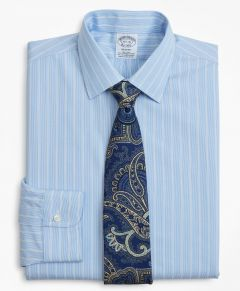 CAMISA HOMBRE STRETCH REGENT FITTED, NON-IRON PINSTRIPE