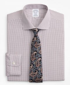 CAMISA HOMBRE REGENT FITTED, NON-IRON WINDOWPANE