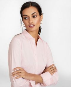 BLUSA MUJER NON-IRON STRETCH SUPIMA® COTTON FITTED