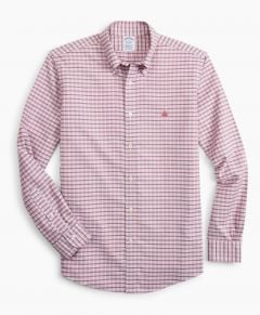 CAMISA HOMBRE STRETCH REGENT FITTED, NON-IRON CHECK