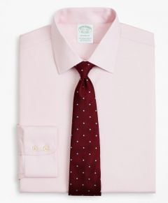 CAMISA HOMBRE STRETCH MILANO SLIM-FIT, NON-IRON TWILL AINSLEY COLLAR