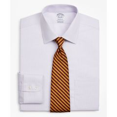 CAMISA HOMBRE STRETCH REGENT FITTED DRESS SHIRT, NON-IRON TWILL AINSLEY COLLAR MICRO-CHECK
