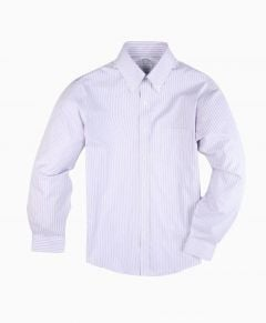 CAMISA HOMBRE NON-IRON REGENT FITTED STRIPED PINPOINT OXFORD DRESS SHIRT