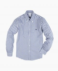 CAMISA HOMBRE NON-IRON REGENT FITTED GINGHAM BROADCLOTH POPLIN SPORT SHIRT